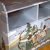 Дизайн и реклама ручной работы. Ярмарка Мастеров - ручная работа Роспись комода в детской. Handmade.