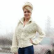 """Одежда ручной работы. Ярмарка Мастеров - ручная работа Теплая кофта """"Букле"""". Handmade."""