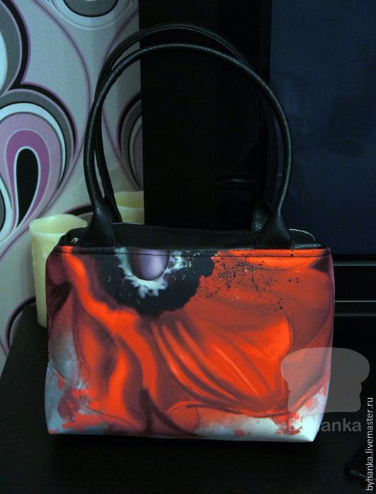 Женские сумки ручной работы. Ярмарка Мастеров - ручная работа. Купить Сумка на плечо. Handmade. Сумка, необычная сумка, институт