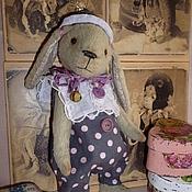 Куклы и игрушки ручной работы. Ярмарка Мастеров - ручная работа Кролик Тедди Ульрик(Грустный клоун). Handmade.