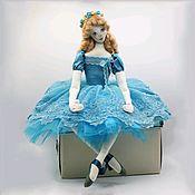 Куклы и пупсы ручной работы. Ярмарка Мастеров - ручная работа Балерина.. Handmade.
