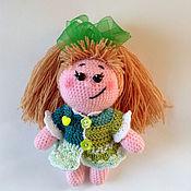 Куклы и игрушки ручной работы. Ярмарка Мастеров - ручная работа пупс вязаный хитрюля. Handmade.