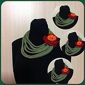 Аксессуары ручной работы. Ярмарка Мастеров - ручная работа Неклюш шарф. Handmade.