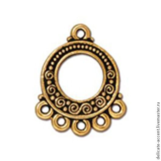 Покрытие - античное золото.