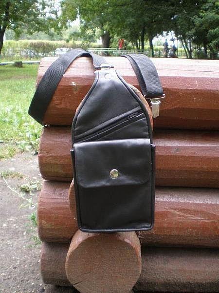 Мужские сумки ручной работы. Ярмарка Мастеров - ручная работа. Купить Сумка-кобура. Handmade. Кожа натуральная