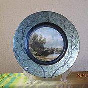"""Посуда ручной работы. Ярмарка Мастеров - ручная работа Тарелка """"Почти Поленово"""". Handmade."""