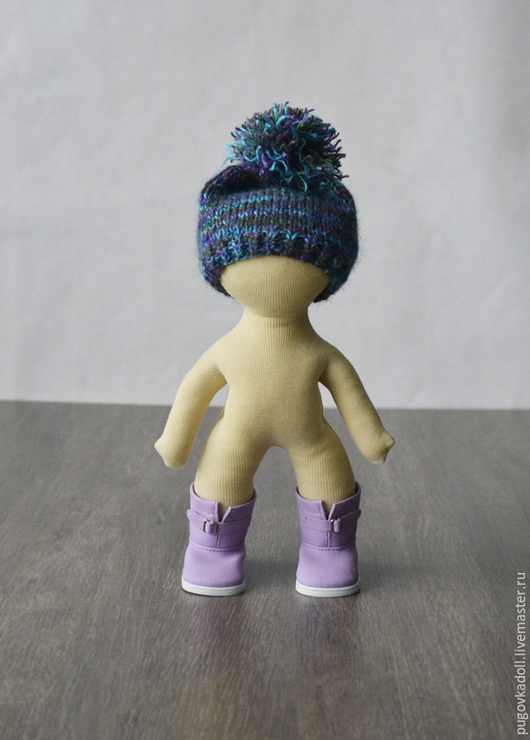 Куклы и игрушки ручной работы. Ярмарка Мастеров - ручная работа. Купить набор для пошива тела куколки 26 см. Handmade.