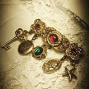 Винтаж handmade. Livemaster - original item Revealing a secret. GOLDETTE brooch.. Handmade.
