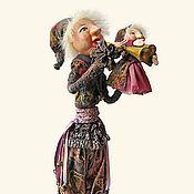 Куклы и игрушки ручной работы. Ярмарка Мастеров - ручная работа Скоморох. Handmade.