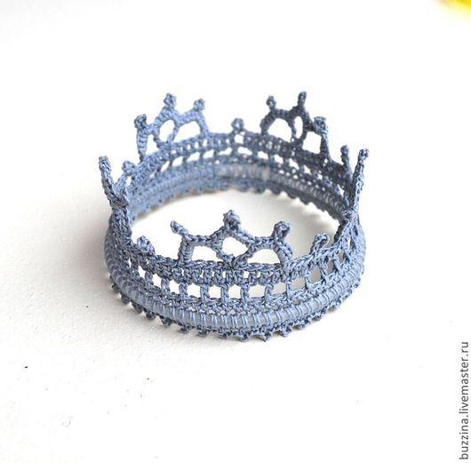 Корона,корона для принца,корона для маленького принца, корона для мальчика, корона фотосессии,корона для новорожденного,корона маленькая,корона для короля,корона вязаная,корона  на голову.