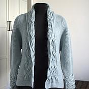 """Одежда ручной работы. Ярмарка Мастеров - ручная работа Жакет """"Fiord Breeze"""". Handmade."""