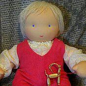 Куклы и игрушки ручной работы. Ярмарка Мастеров - ручная работа Вальдорфская кукла-младенец  (на пуговичках)40 см. Handmade.