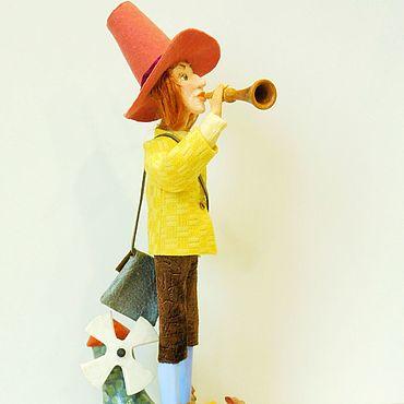 Куклы и игрушки ручной работы. Ярмарка Мастеров - ручная работа ВОЛШЕБНАЯ ДУДОЧКА авторская кукла. Handmade.