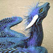 Подарки к праздникам ручной работы. Ярмарка Мастеров - ручная работа Синий дракон. Handmade.