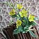 Цветы ручной работы. Ярмарка Мастеров - ручная работа. Купить Лютики из шелка. Handmade. Желтый, лютик из шелка, полевые цветы