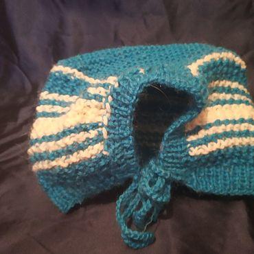 Товары для малышей ручной работы. Ярмарка Мастеров - ручная работа Комплект: шапочка и пинетки для малыша 0-6 месяцев. Handmade.