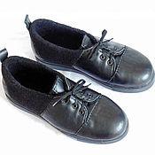 Обувь ручной работы. Ярмарка Мастеров - ручная работа Туфли из войлока и кожи, в наличии.. Handmade.