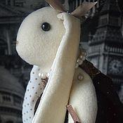 """Куклы и игрушки ручной работы. Ярмарка Мастеров - ручная работа Зайка """"Жульет"""". Handmade."""