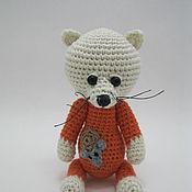 """Куклы и игрушки ручной работы. Ярмарка Мастеров - ручная работа Котик """"Рыжик"""". Handmade."""