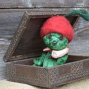 Куклы и игрушки ручной работы. Ярмарка Мастеров - ручная работа Мишка Вишня. Handmade.