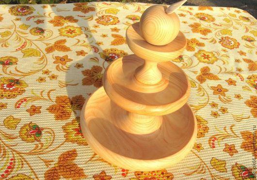 Кухня ручной работы. Ярмарка Мастеров - ручная работа. Купить Кухонная посуда из дерева. Handmade. Кедр, ручная работа, подарок
