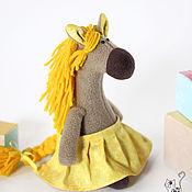 Куклы и игрушки ручной работы. Ярмарка Мастеров - ручная работа Лошадка Ириска. Handmade.