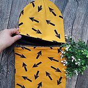 Шапки ручной работы. Ярмарка Мастеров - ручная работа Комплект шапка и снуд. Handmade.