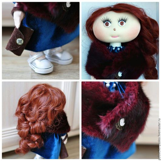 Человечки ручной работы. Ярмарка Мастеров - ручная работа. Купить Кукла Мариника. Handmade. Разноцветный, кукла, кукла интерьерная, Снежка