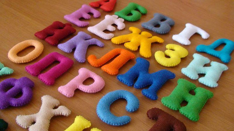 Как сшить подушки буквы своими руками с фото