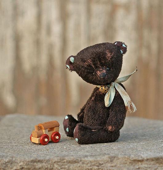 """Мишки Тедди ручной работы. Ярмарка Мастеров - ручная работа. Купить Мишка Тедди """"Китя"""" 14 см. Handmade. Коричневый"""