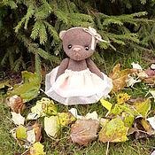 Куклы и игрушки ручной работы. Ярмарка Мастеров - ручная работа Тедди-мишка. Handmade.