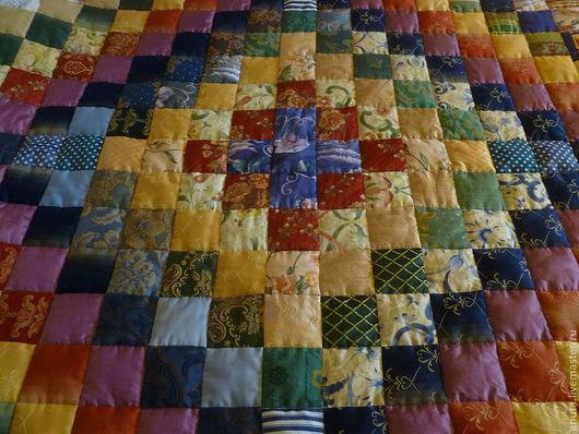 """Текстиль, ковры ручной работы. Ярмарка Мастеров - ручная работа. Купить Одеяло """"Радуга"""". Handmade. Лоскутное одеяло, лоскутная техника"""