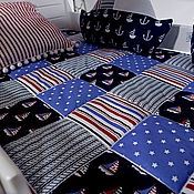 Текстиль ручной работы. Ярмарка Мастеров - ручная работа Покрывало на детскую кровать. Handmade.