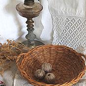 Для дома и интерьера handmade. Livemaster - original item Dish woven