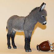 Stuffed Toys handmade. Livemaster - original item donkey