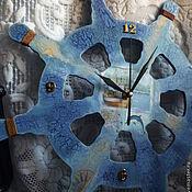 """Для дома и интерьера ручной работы. Ярмарка Мастеров - ручная работа Часы """"Морской прибой"""". Handmade."""