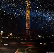 Картины и панно manualidades. Livemaster - hecho a mano La vía láctea /óleo sobre lienzo, 45h50. Handmade.