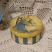 """Для дома и интерьера ручной работы. Ярмарка Мастеров - ручная работа Шкатулка """" Колыбельная """". Handmade."""