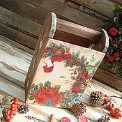 """Подарки к праздникам ручной работы. Ярмарка Мастеров - ручная работа Мини- бар """"Новогодний вечер"""". Handmade."""