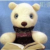 Куклы и игрушки ручной работы. Ярмарка Мастеров - ручная работа Белый мишка Бёрн. Handmade.