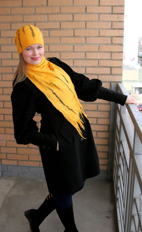 The hat felted. women's, Caps, Khabarovsk,  Фото №1