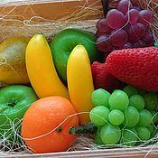 Набор мыла фрукты в ящике