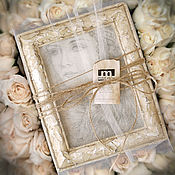 Свадебный салон handmade. Livemaster - original item A painting gift Cream girl (in a frame, holiday gift). Handmade.