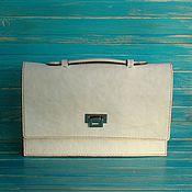 Сумки и аксессуары handmade. Livemaster - original item Leather bag Clutch Ada.. Handmade.