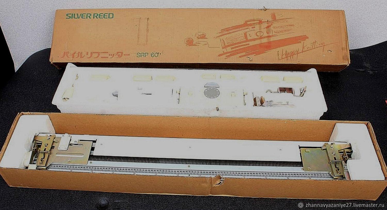 Silver Reed SRP-60 Вторая фонтура 5класса, Инструменты для вязания, Хабаровск,  Фото №1