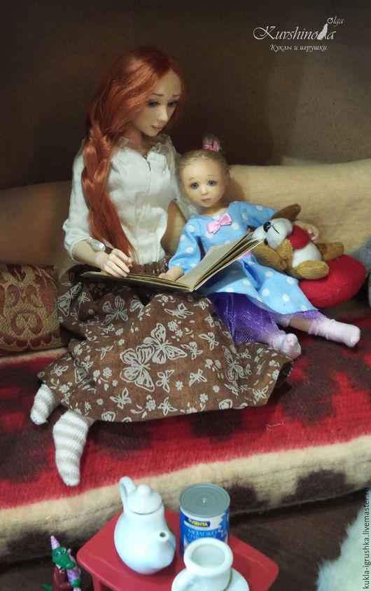 Коллекционные куклы ручной работы. Ярмарка Мастеров - ручная работа. Купить Зоя 3. Handmade. Кукла, каркас