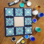 Для дома и интерьера ручной работы. Ярмарка Мастеров - ручная работа Декоративное зеркало ручной работы. Handmade.