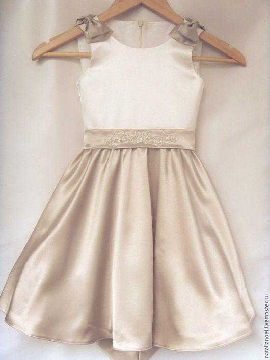 Одежда для девочек, ручной работы. Ярмарка Мастеров - ручная работа. Купить Коктейльное платье. Handmade. Комбинированный, Платье нарядное, кружево