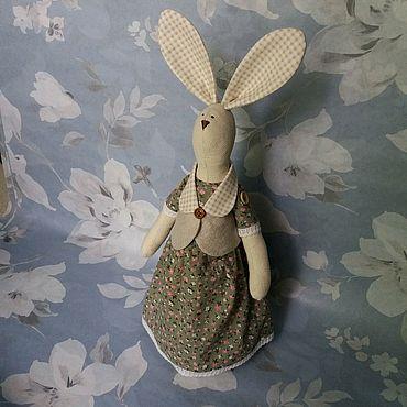 Куклы и игрушки ручной работы. Ярмарка Мастеров - ручная работа Зайка в стиле Тильда. Handmade.