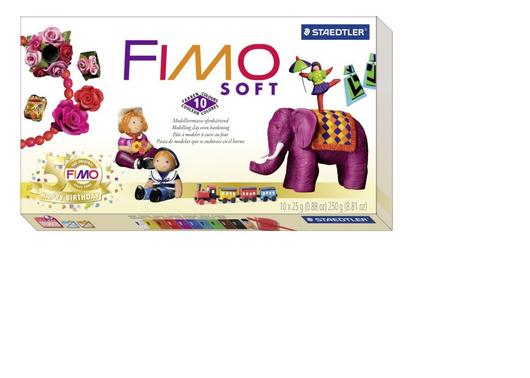 Для украшений ручной работы. Ярмарка Мастеров - ручная работа. Купить FIMO soft юбилейный набор полимерной глины. Handmade.